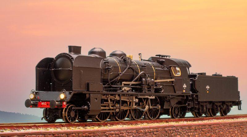 REE SNCF 1-4-1 HO 蒸汽機車
