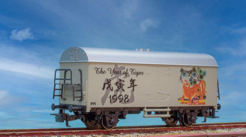 Marklin HO 中國元素車廂