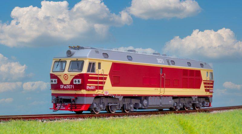 Bachmann China HO 中國火車模型