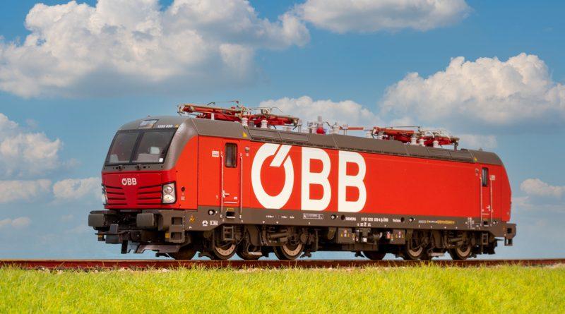 ROCO DB 193, OBB 1293 音效版電力機車