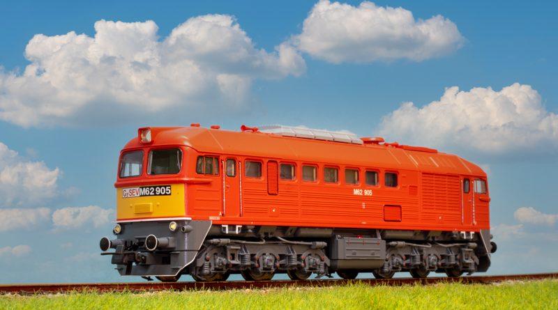 ROCO GySev (由匈牙利與奧地利聯合經營的杰肖埃/拉布鐵路)M62音效版內燃機車