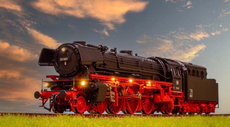 ROCO BR03 1021 音效 蒸汽機車